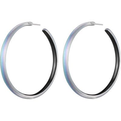 Alexis Bittar Large Skinny Hoop Earrings