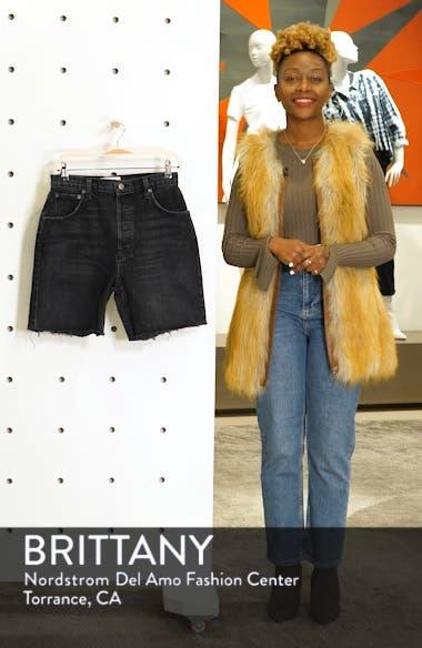 Allie Cutoff Denim Shorts, sales video thumbnail