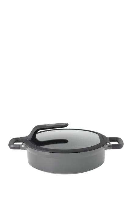 "Image of BergHOFF Grey Gem 11"" Stay-Cool Two-Handled Saute Pan"