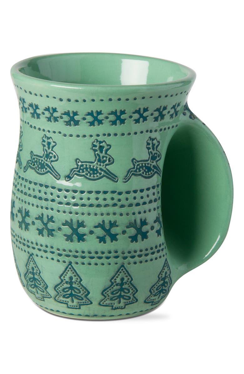 TAG Sugar & Spice Handwarmer Holiday Mug, Main, color, GREEN MULTI