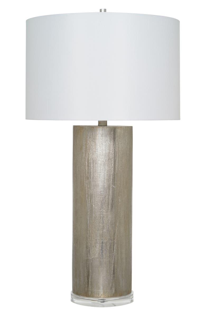 JALEXANDER LIGHTING Burton Table Lamp, Main, color, SILVER