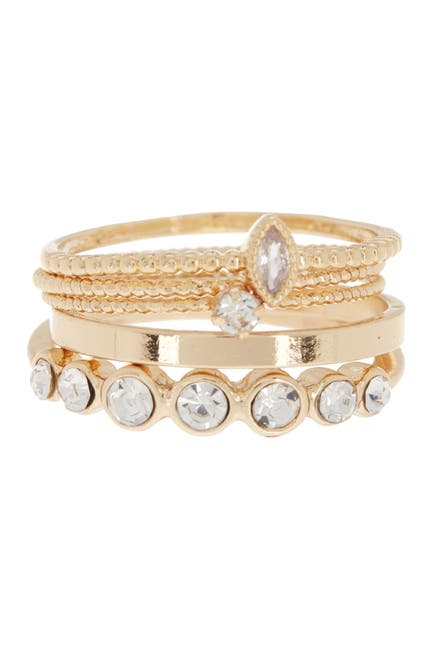 Image of Loren Olivia Circle Bands Stackable Ring Set