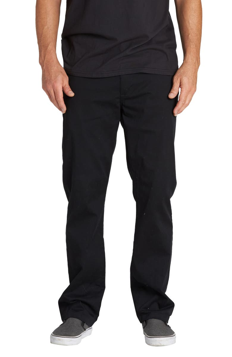 BILLABONG Carter Chinos, Main, color, BLACK