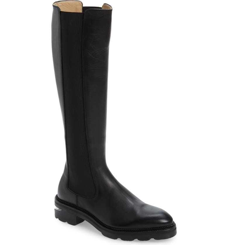 ALEXANDER WANG Andy Riding Boot, Main, color, 001