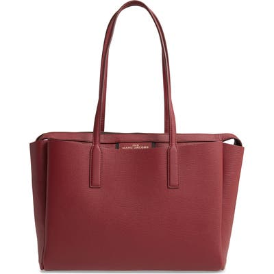 The Marc Jacobs Protege Leather Tote - Burgundy