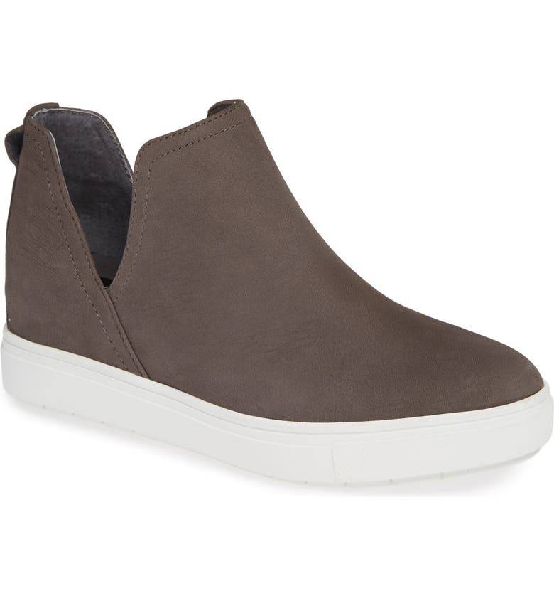 STEVEN BY STEVE MADDEN Canares High Top Sneaker, Main, color, GREY LEATHER