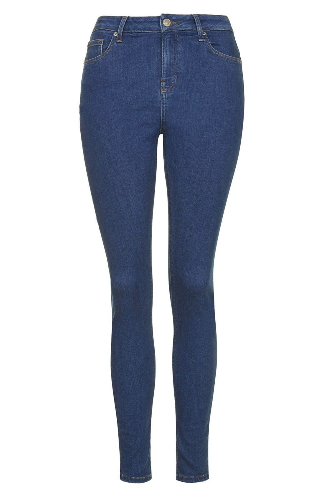 ,                             'Jamie' High Rise Crop Jeans,                             Alternate thumbnail 4, color,                             400