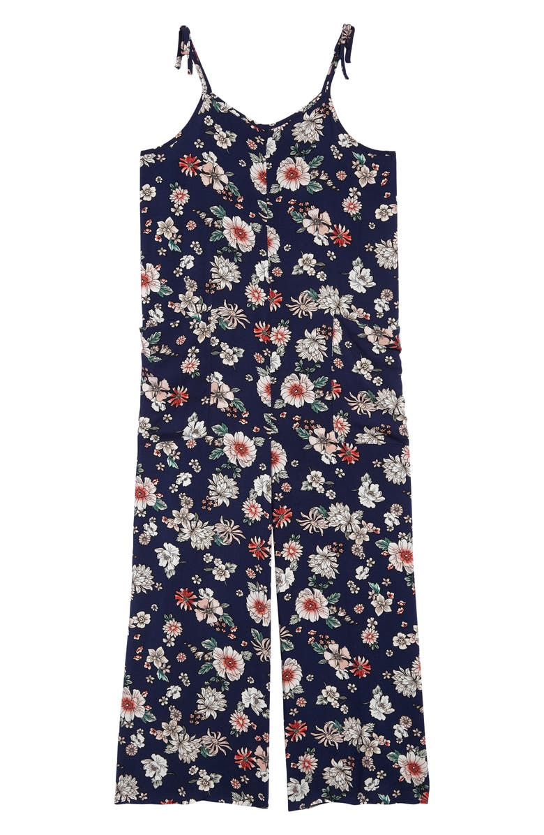LOVE, FIRE Floral Jumpsuit, Main, color, 410
