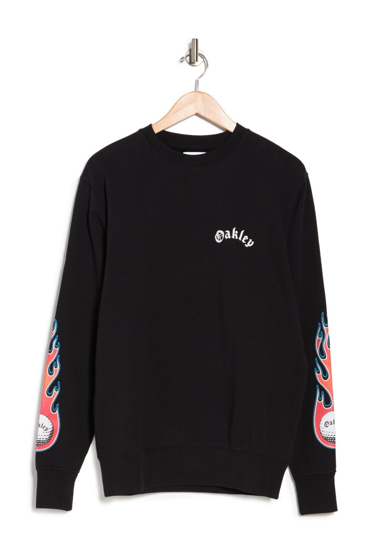 Image of Oakley Flames Long Sleeve T-Shirt
