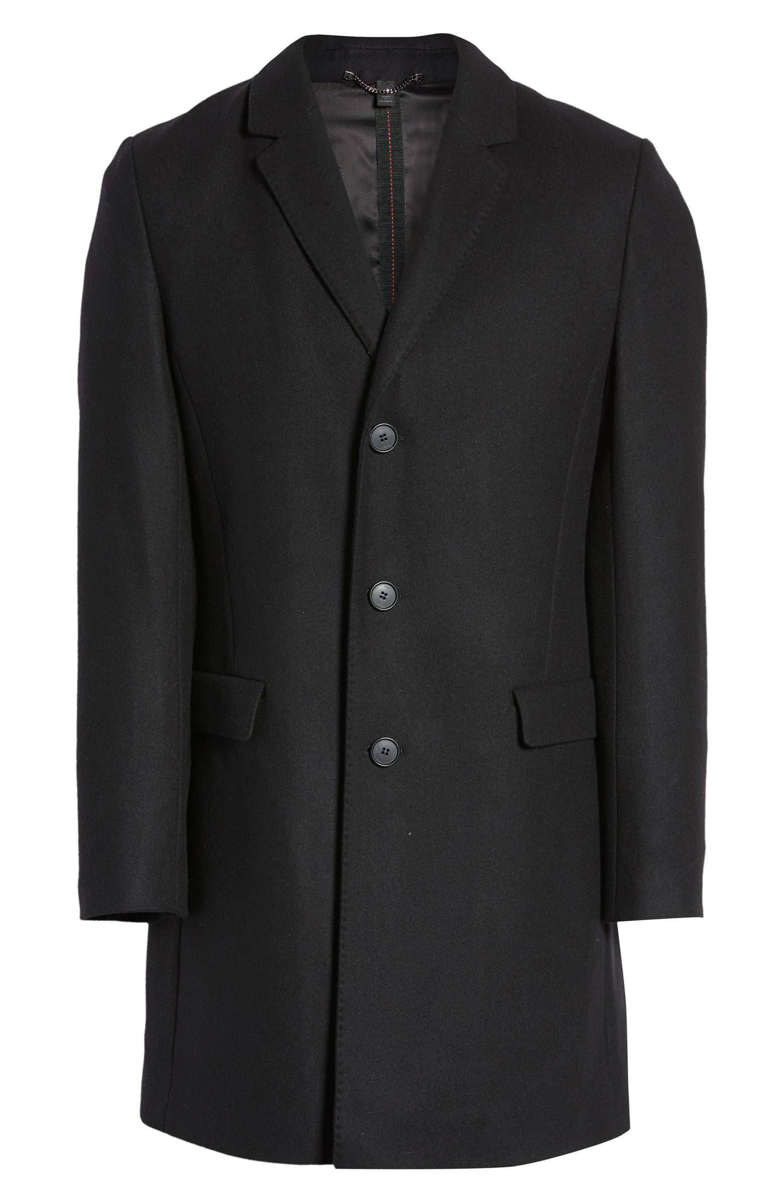 Migor Wool Blend Coat         HUGO