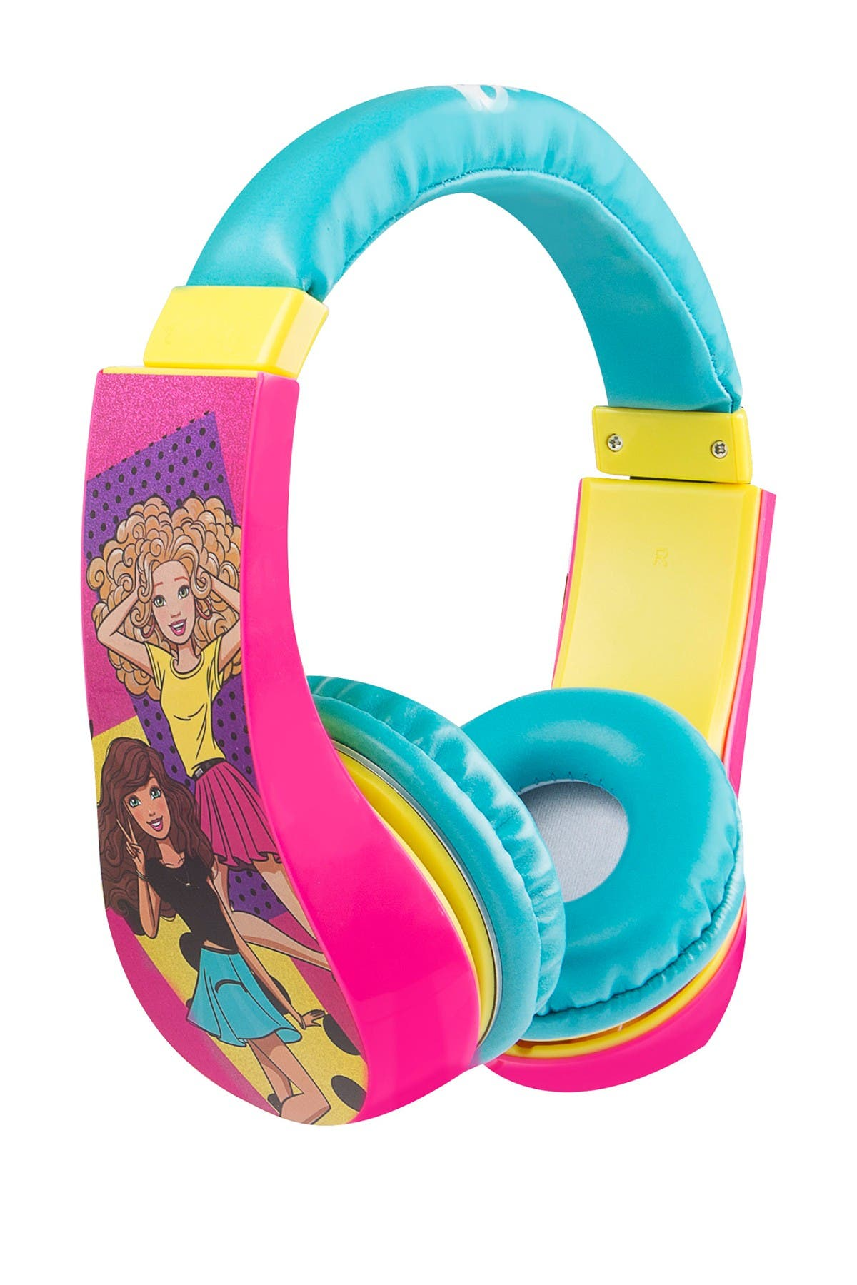 Image of VIVITAR Barbie Kids Safe Headphones