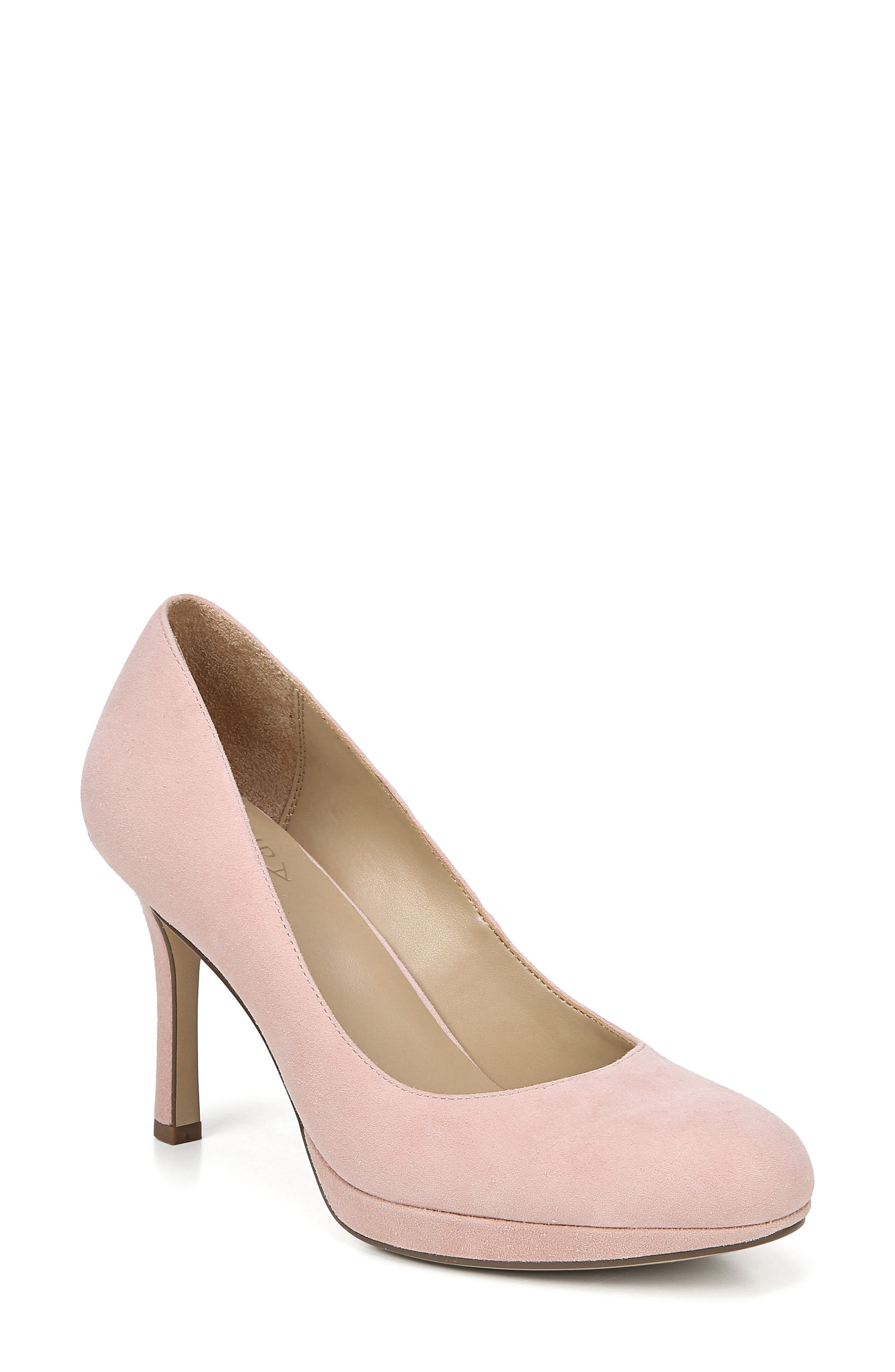 Naturalizer Celina Almond Toe Pump- Pink