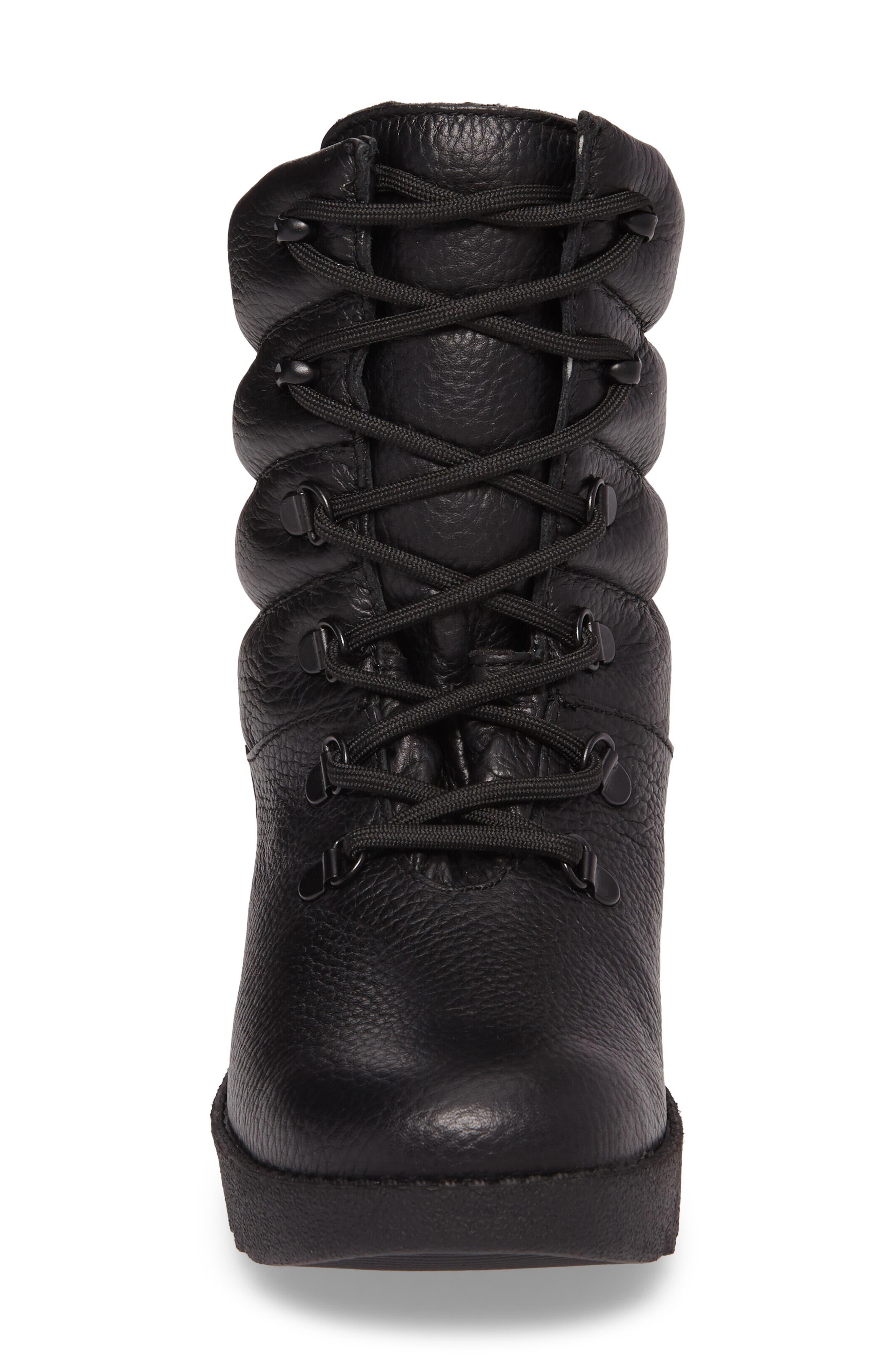 ,                             Blackout Waterproof Boot,                             Alternate thumbnail 4, color,                             001