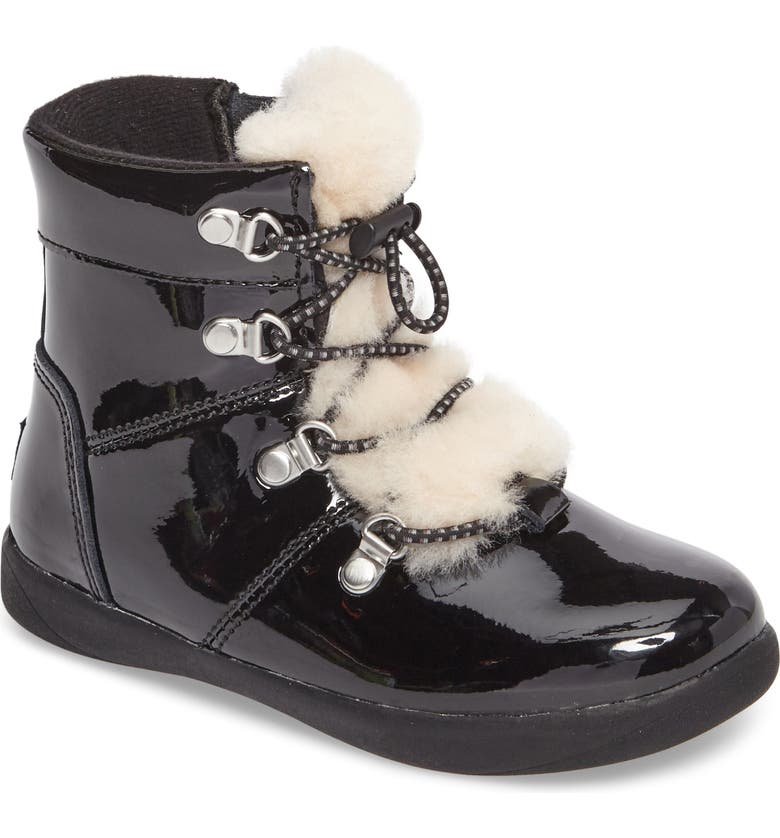 5fe1fdfbca7 T Ager Genuine Shearling Polished Boot