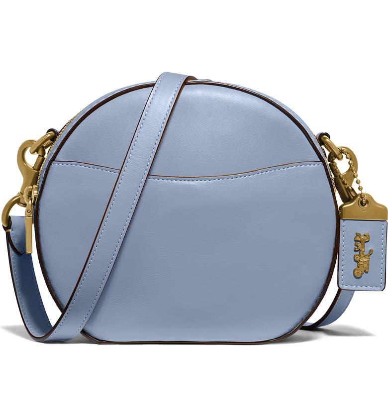 COACH Canteen Leather Crossbody Bag, Main, color, TWILIGHT