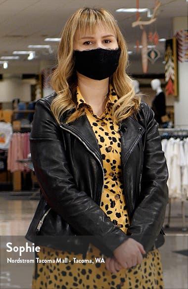 Blushing Belle Faux Fur Collar Coat, sales video thumbnail