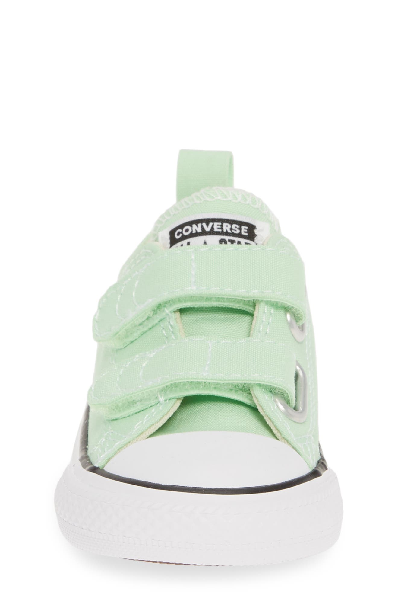 ,                             Chuck Taylor<sup>®</sup> 'Double Strap' Sneaker,                             Alternate thumbnail 4, color,                             LT. APHID GREEN