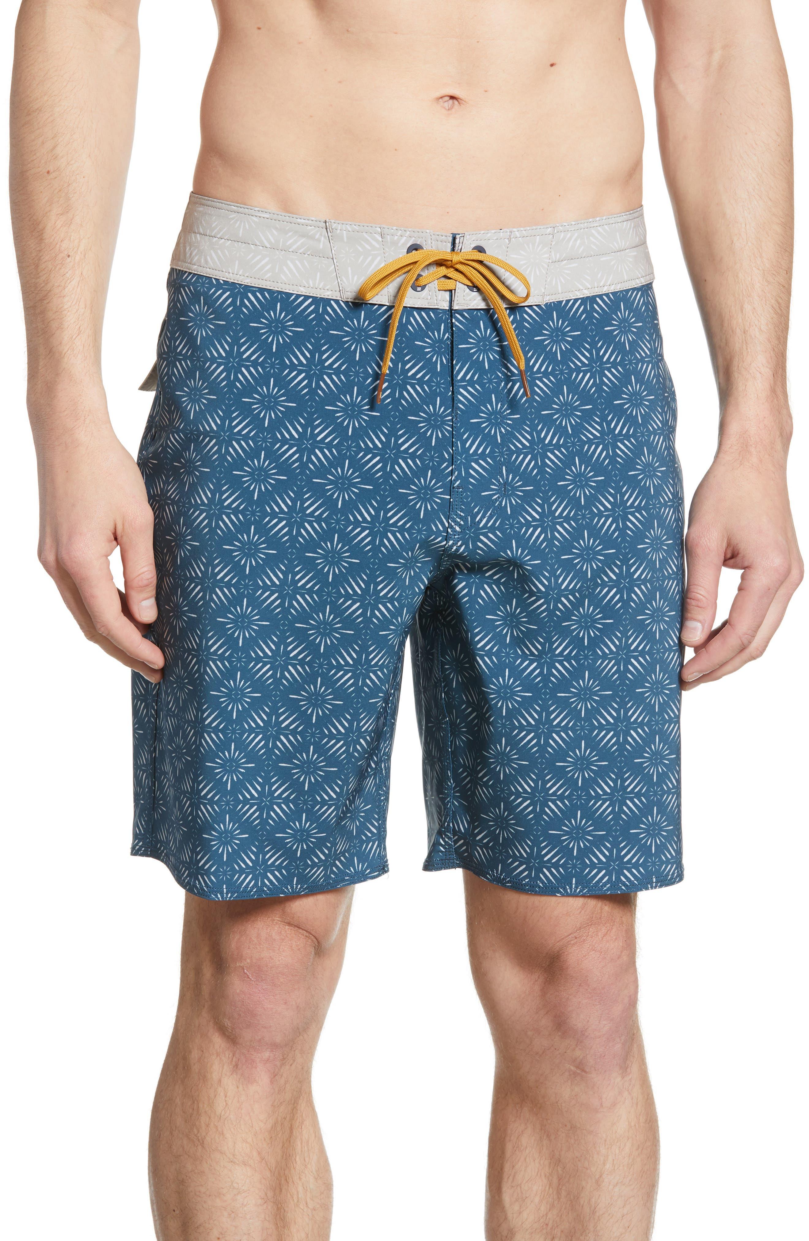 Billabong Sundays Pro Board Shorts, Blue