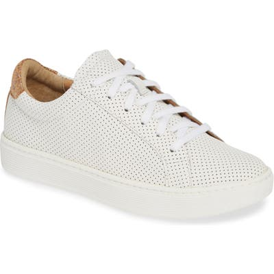 Sofft Somers Perforated Sneaker, White