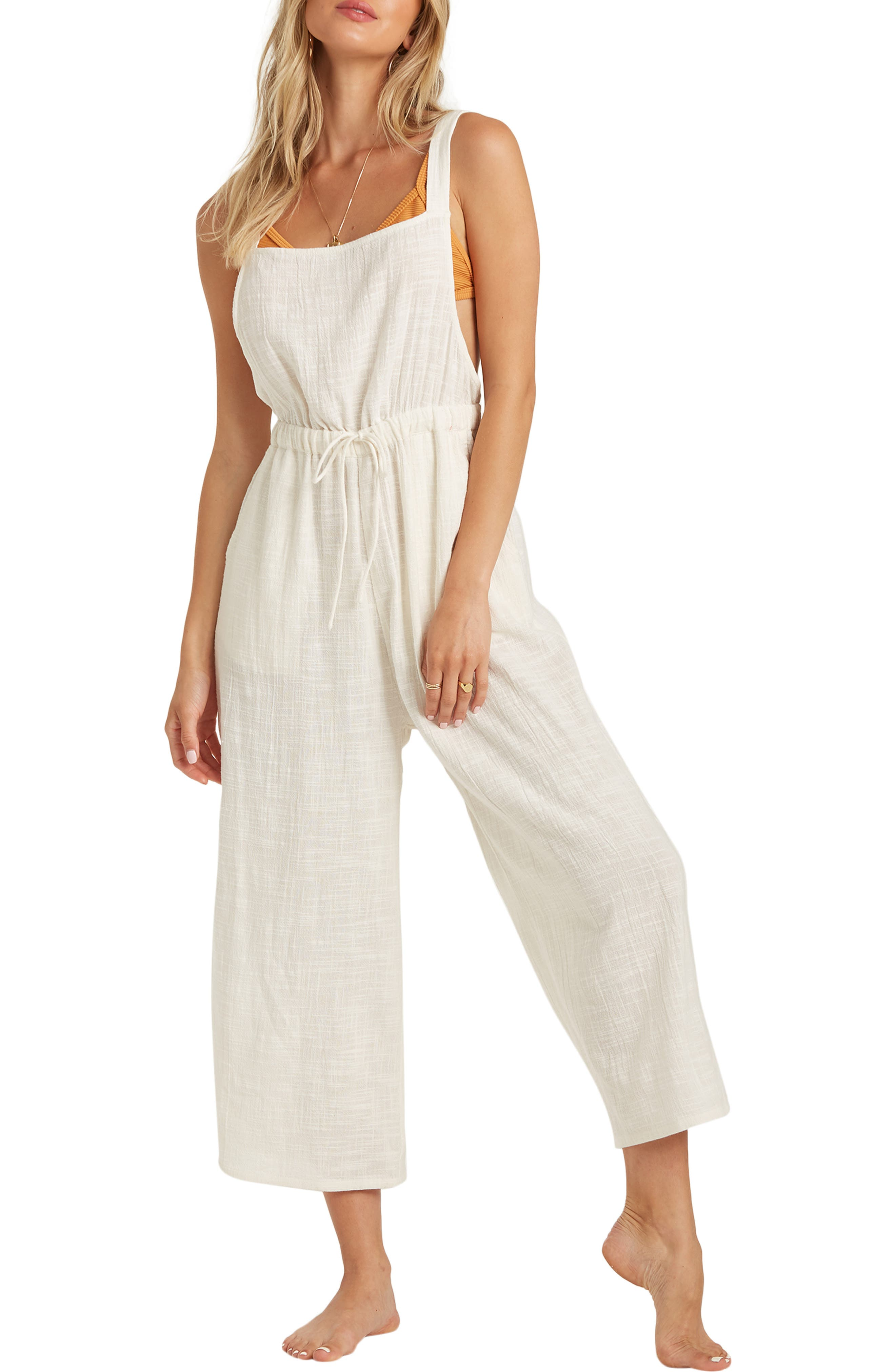 Image of Billabong One N Only Wide Leg Overalls