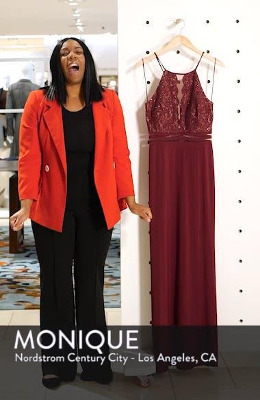 Scallop Lace Bodice Evening Dress, sales video thumbnail