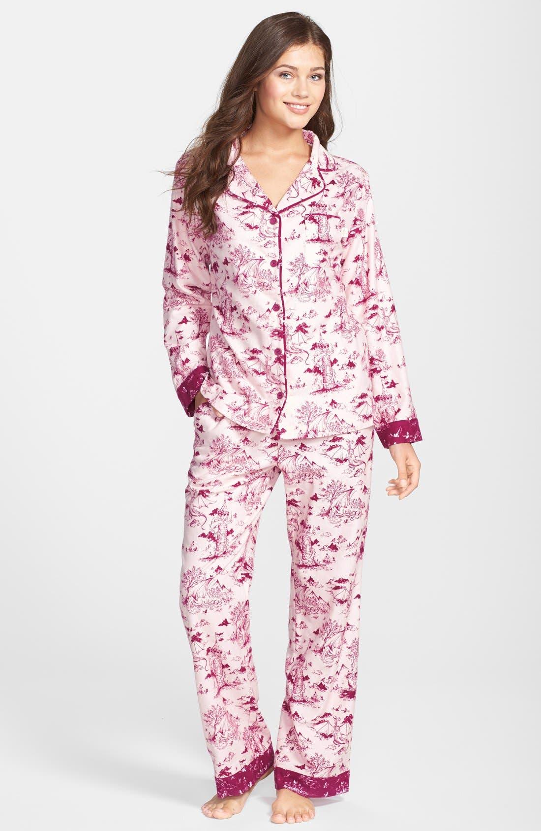 ,                             Flannel Pajamas,                             Main thumbnail 89, color,                             685