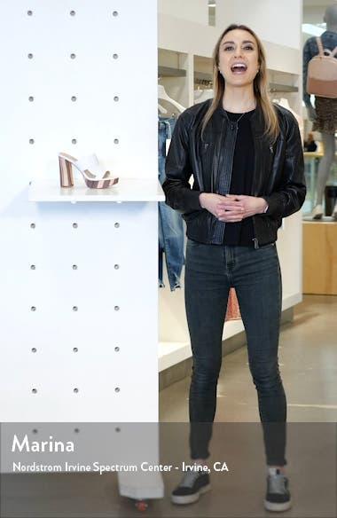 Jinx Platform Slide Sandal, sales video thumbnail