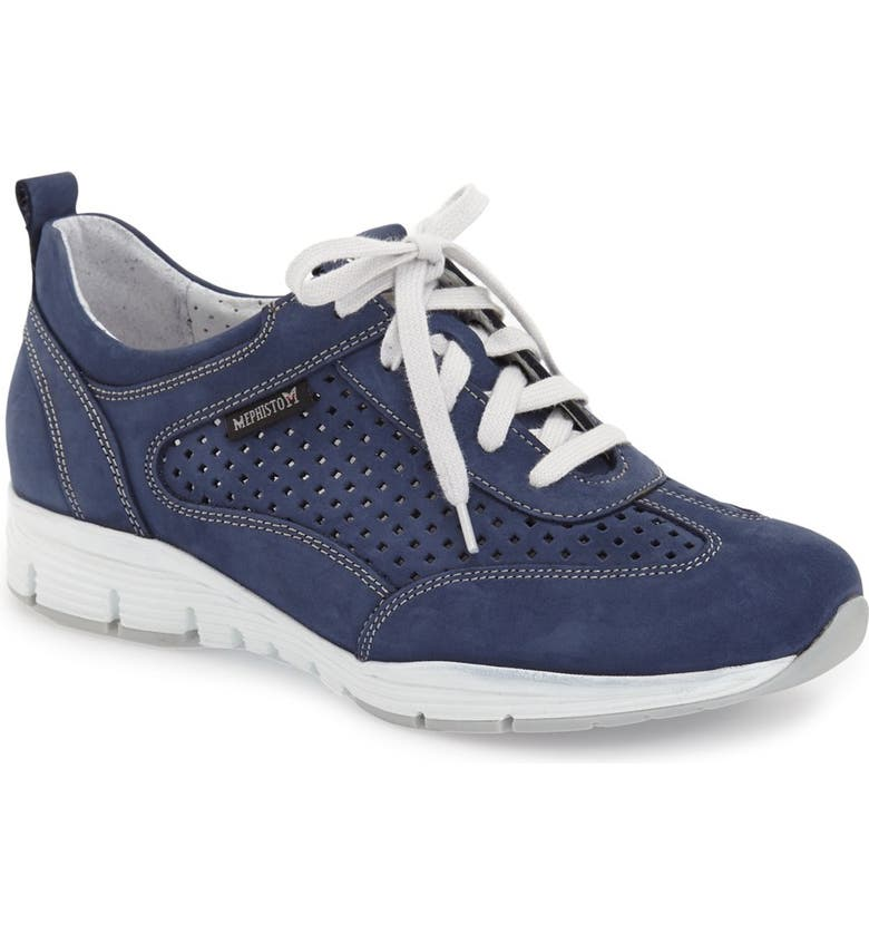 MEPHISTO 'Yoana' Soft Air Perforated Sneaker, Main, color, 411