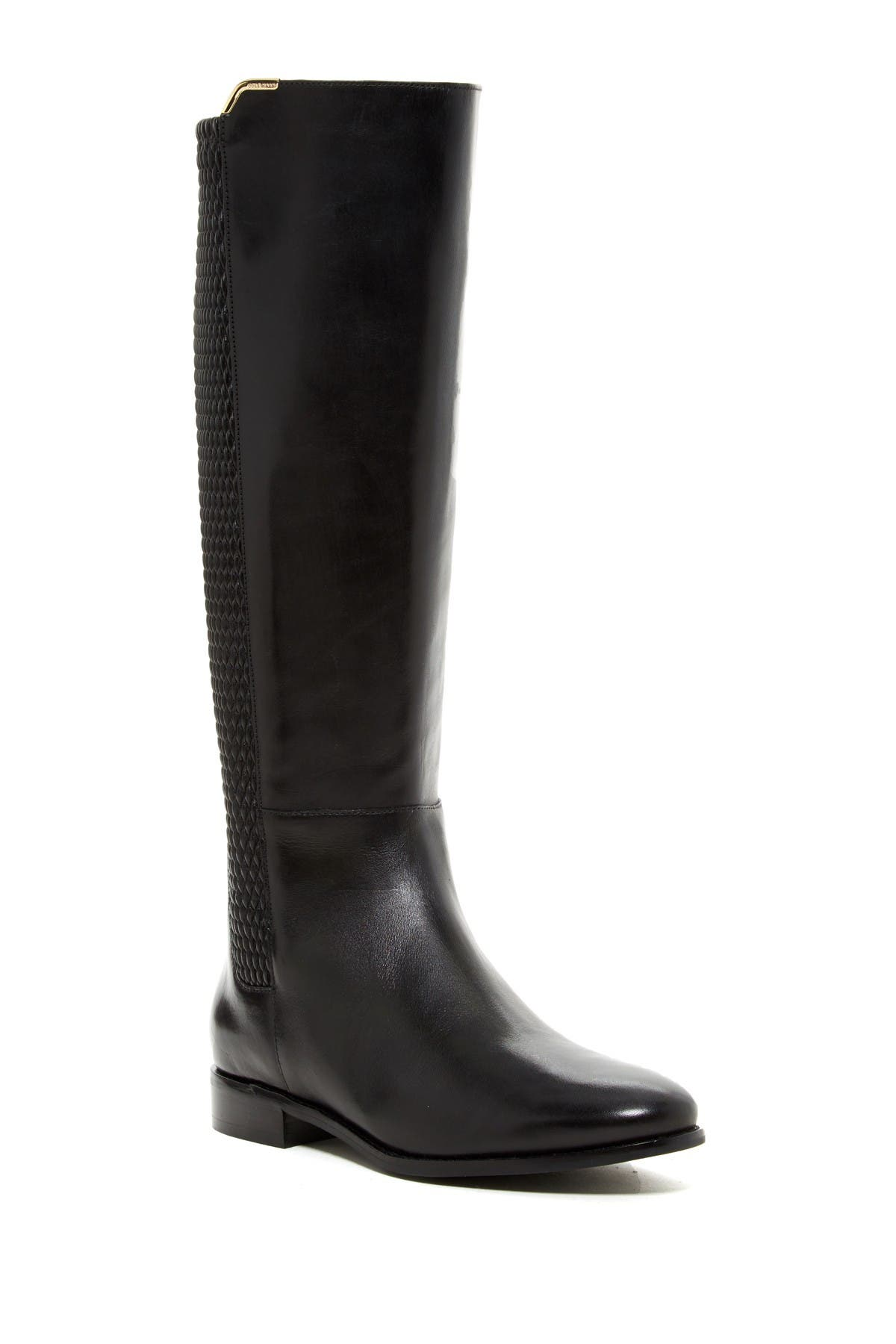 Image of Cole Haan Rockland Tall Leather Boot - Wide Width Available