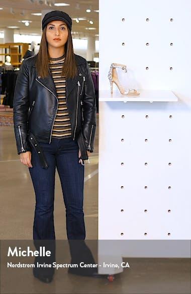 Viola Crystal Embellished Ankle Strap Sandal, sales video thumbnail