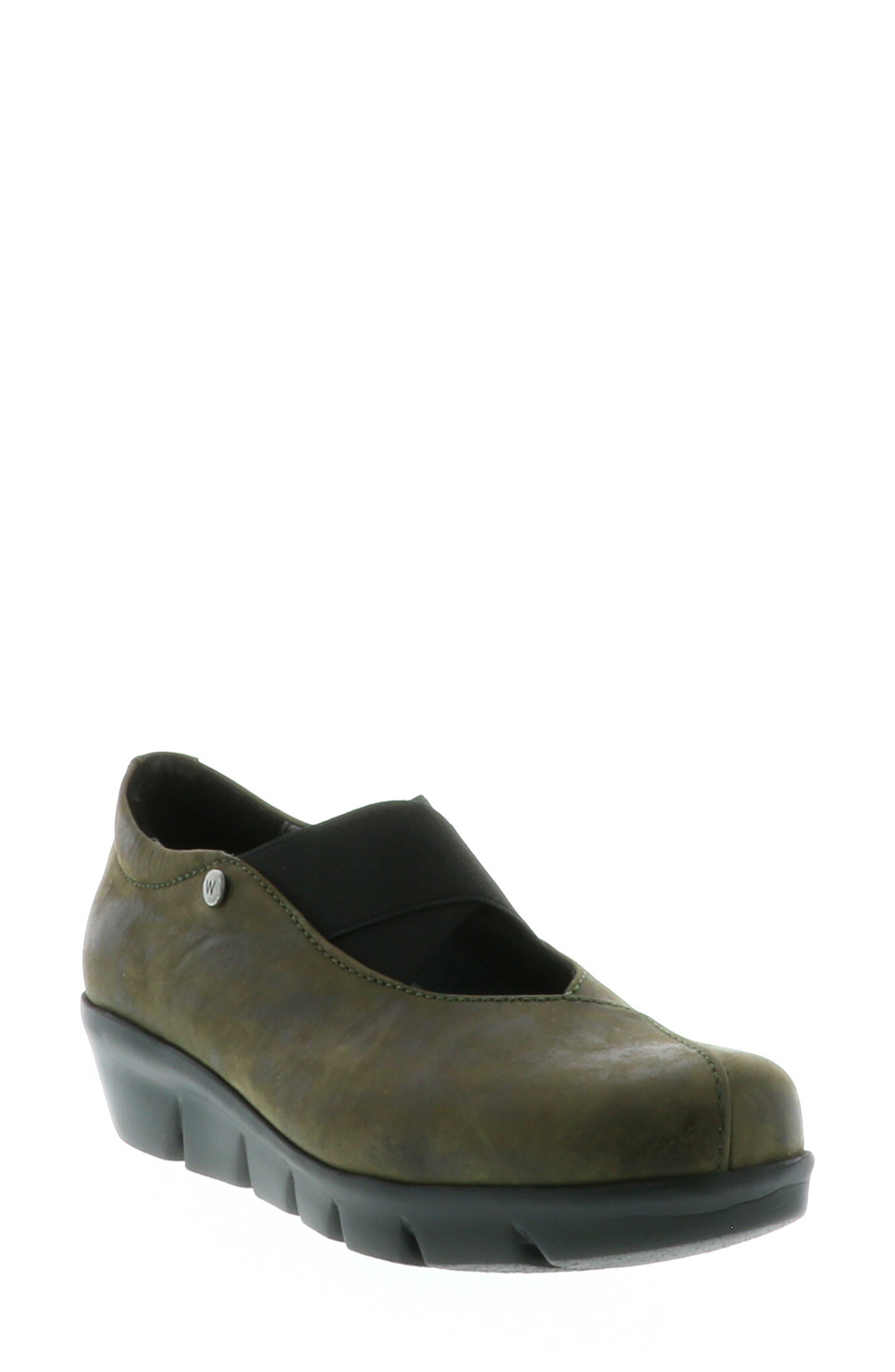 Wolky Cursa Slip-On Sneaker - Green
