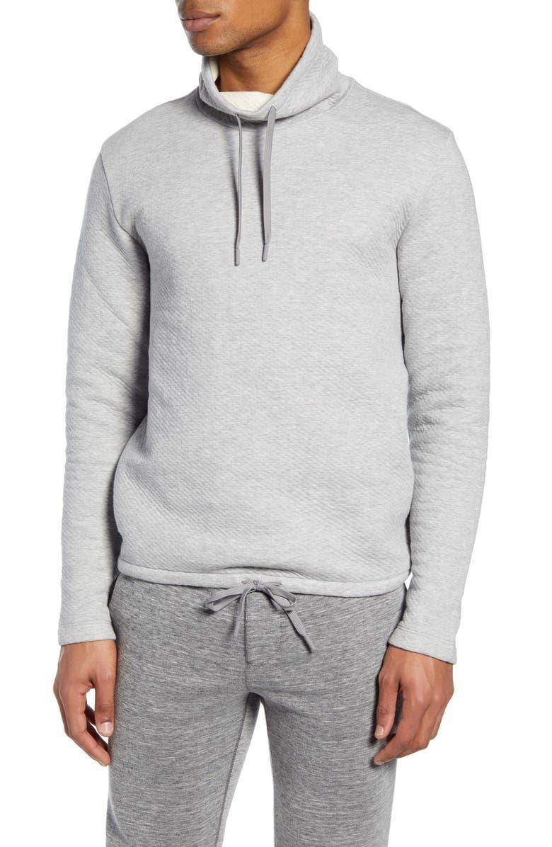 CLUB MONACO Funnel Neck Sweatshirt, Main, color, 020
