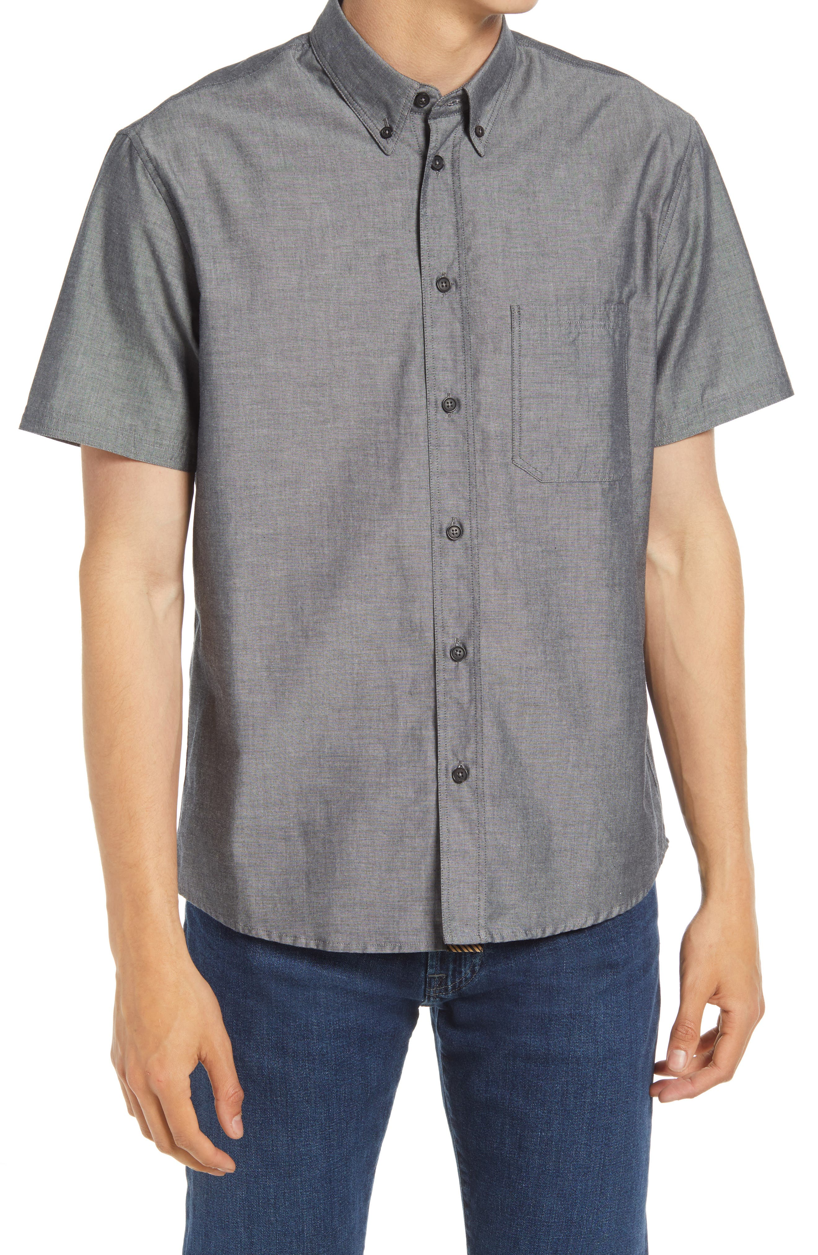 Tuscumbia Standard Fit Short Sleeve Button-Down Shirt