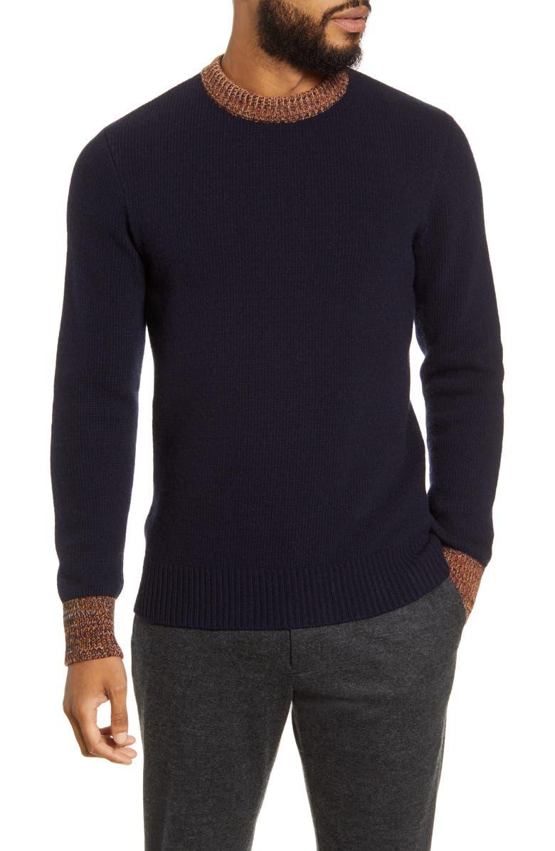 OLIVER SPENCER Blenheim Slim Fit Sweater, Main, color, 410