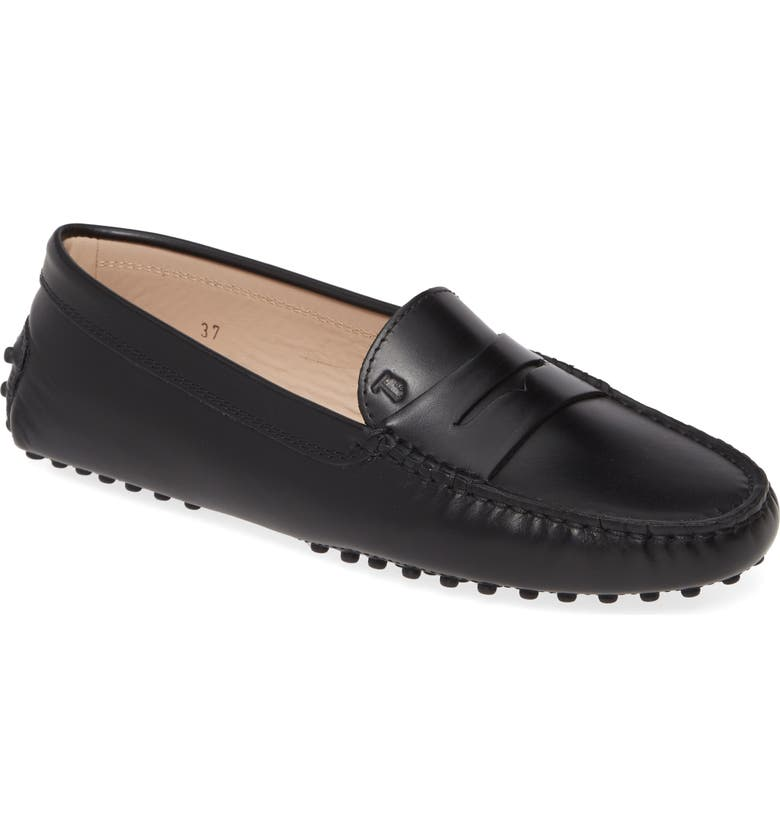 TOD'S 'Gommini' Driving Moccasin, Main, color, NERO LEATHER