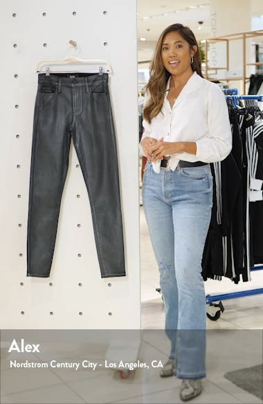 Transcend Hoxton High Waist Coated Skinny Jeans, sales video thumbnail