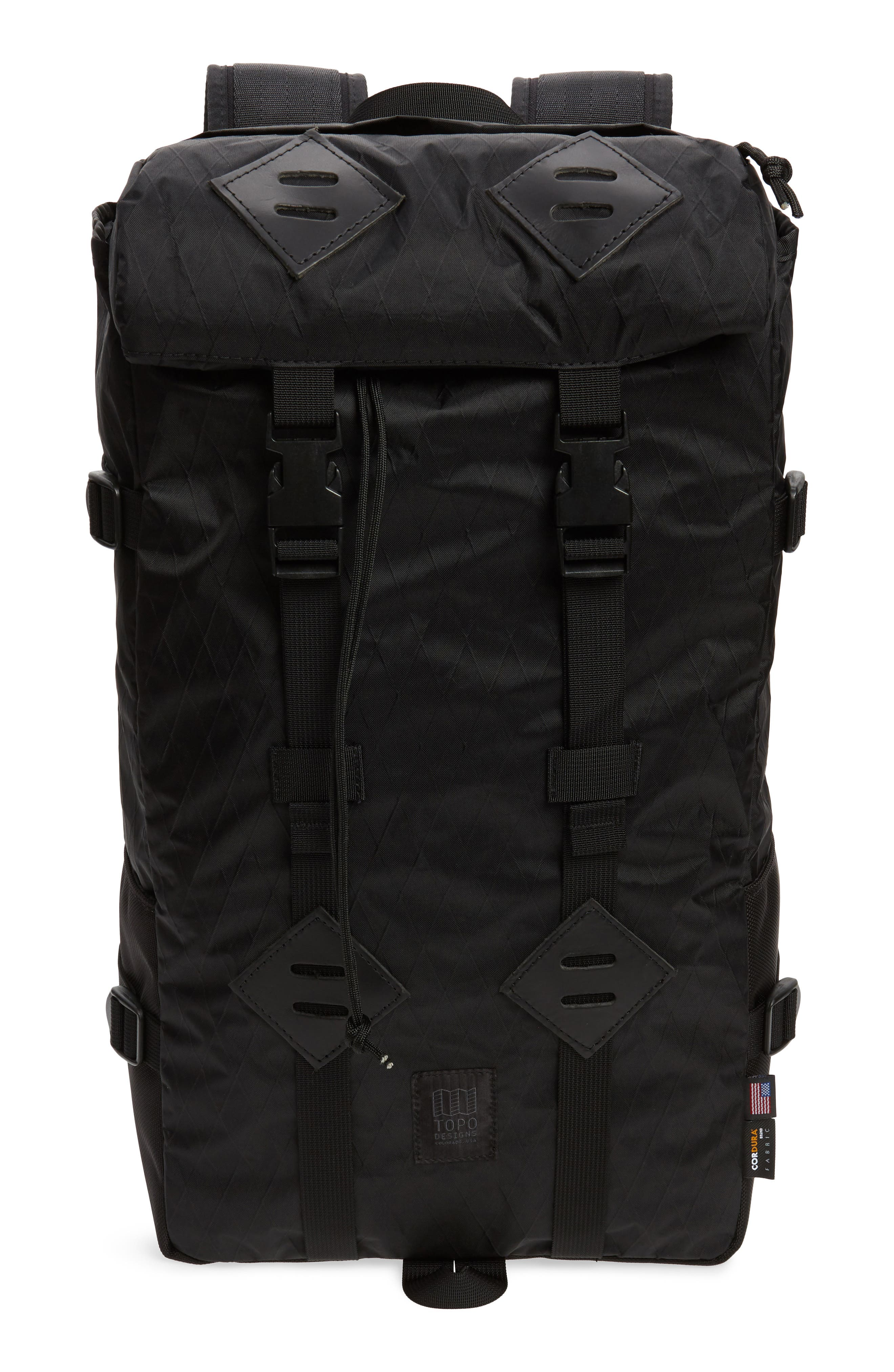 Topo Designs X-Pac Backpack - Black