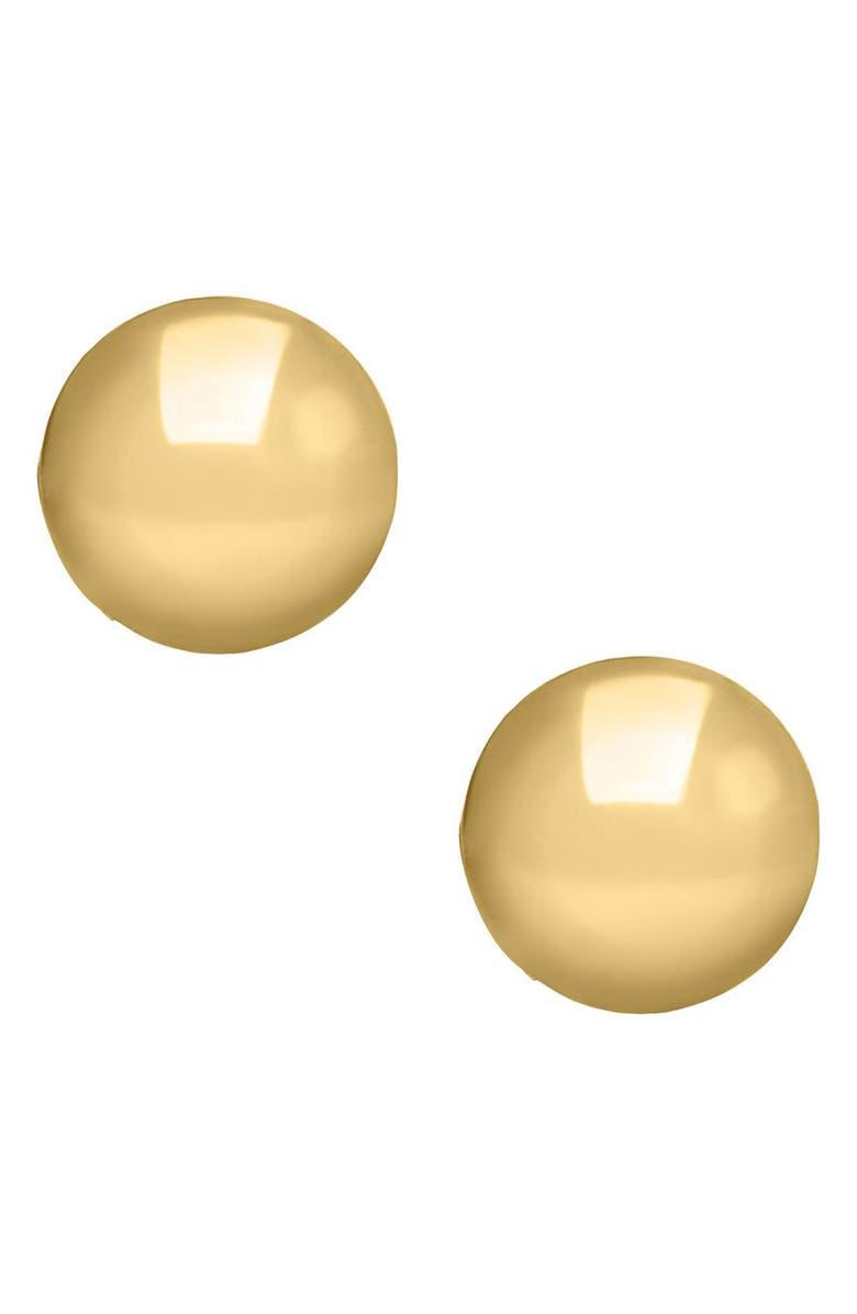 Mignonette 14k Gold Ball Earrings Baby Girls