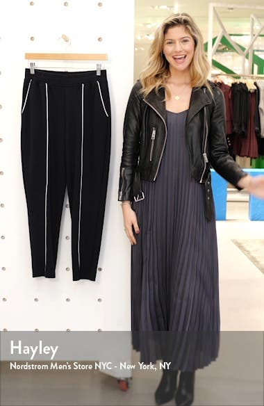 French Terry Crop Sweatpants, sales video thumbnail