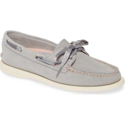 Sperry Authentic Original 2-Eyelet Boat Shoe, Grey