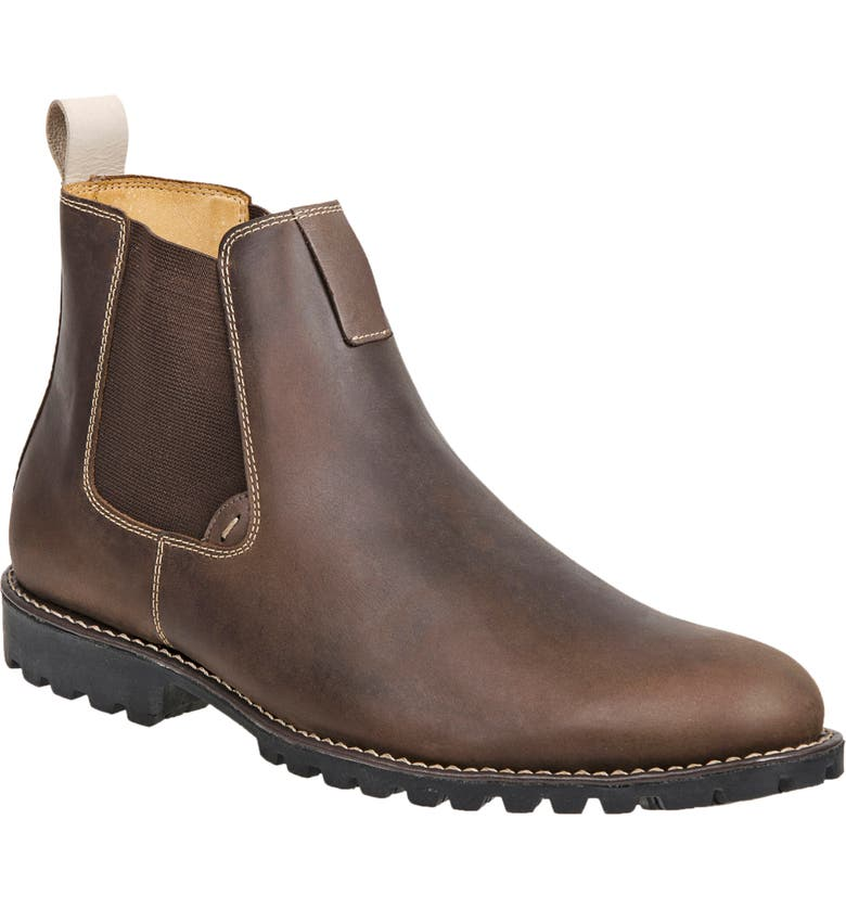 SANDRO MOSCOLONI Wilbur Chelsea Boot, Main, color, BROWN