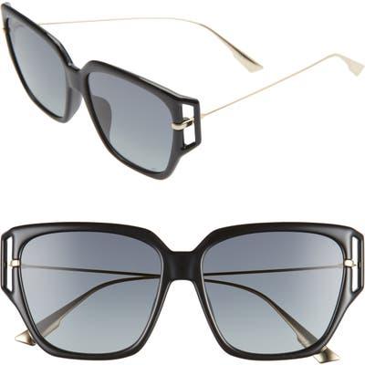 Dior Directi 5m Special Fit Sunglasses - Black/ Grey
