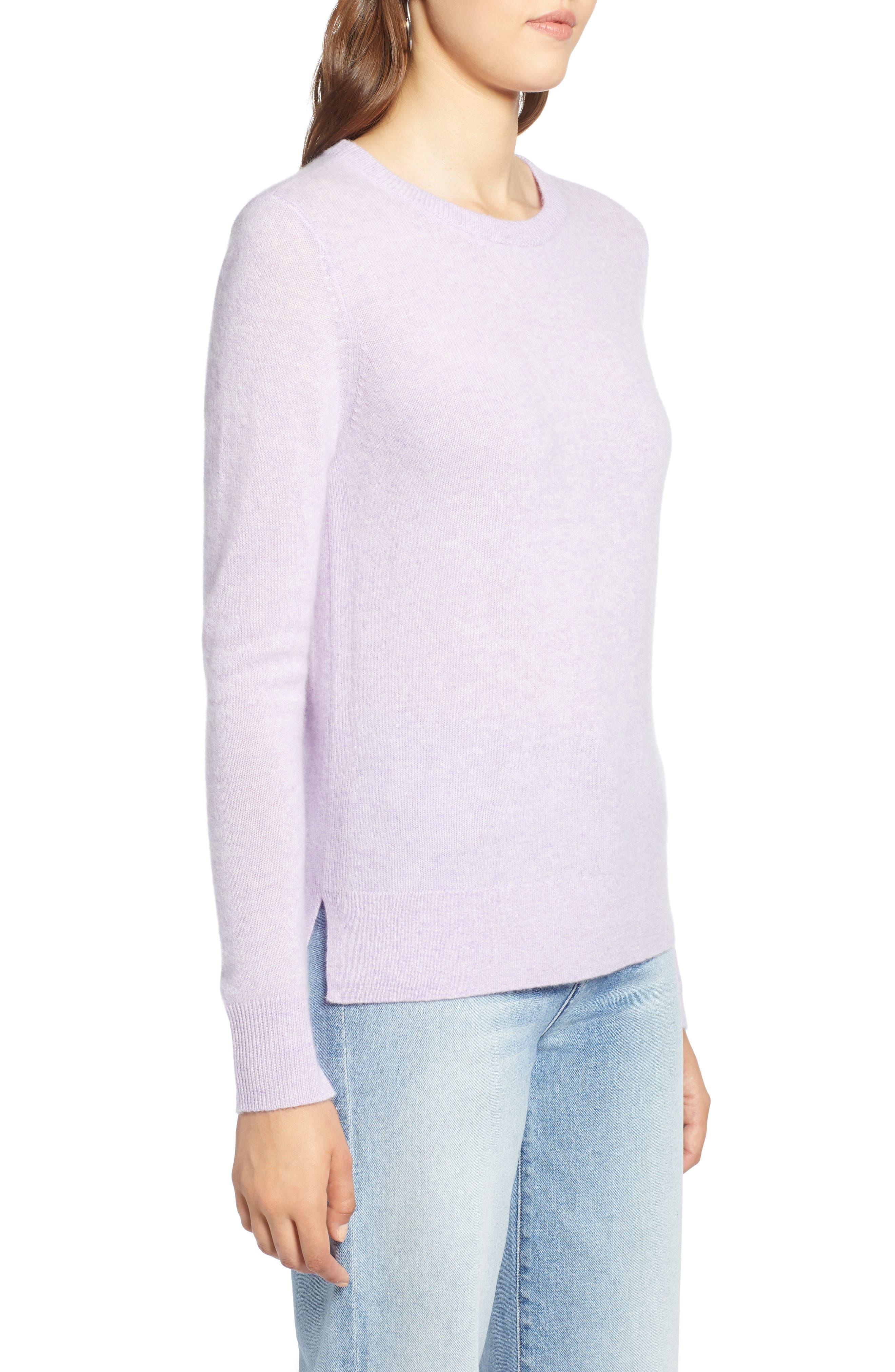 ,                             Crewneck Cashmere Sweater,                             Alternate thumbnail 126, color,                             500