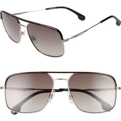 Carrera Eyewear 60Mm Gradient Aviator Sunglasses - Ruthenium