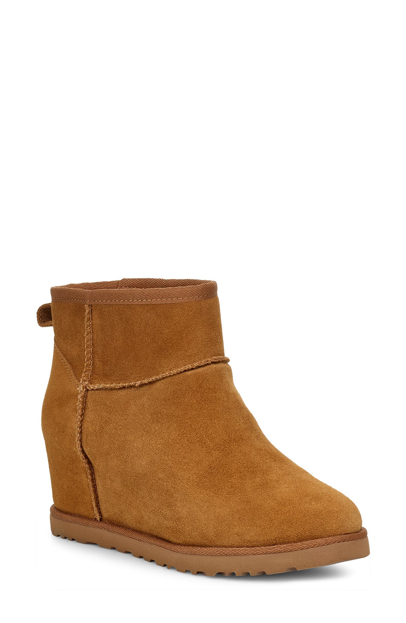 UGG® Classic Femme Mini Wedge Bootie (Women)