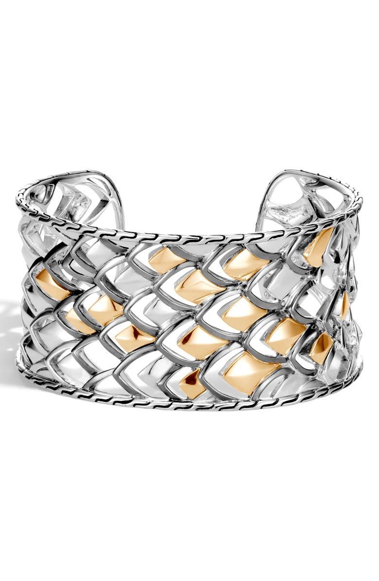 JOHN HARDY Legends Naga Large Cuff Bracelet, Main, color, 041