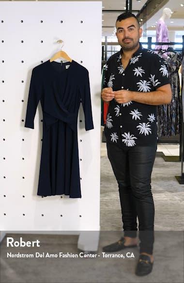 Twist Fit & Flare Dress, sales video thumbnail
