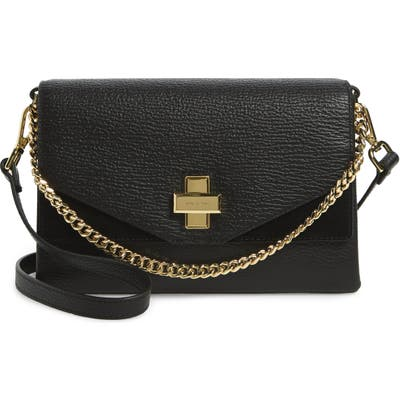 Ted Baker London Bethan Leather Crossbody Bag - Black