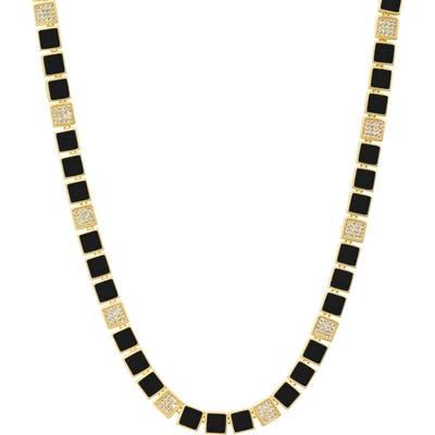 Freida Rothman Harmony Enamel Collar Necklace