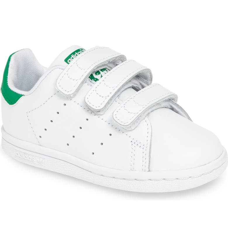 ADIDAS Stan Smith Sneaker, Main, color, WHITE/ GREEN